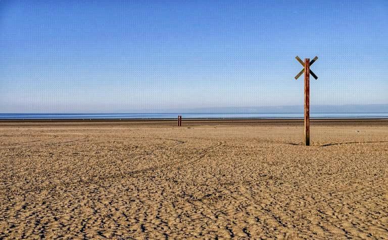 Römö Strand Weite